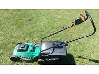 Qualcast Electric lawnmover Plus edge trimer