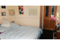 Large Double Room in Lovely Southside Flat with Private Garden