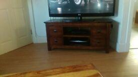tv cabanit solid wood