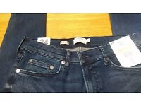 Topman men's super spray jeans w 34 length 30. Brand new. Half price