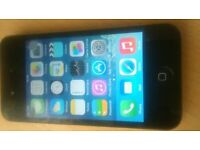 APPLE IPHONE 4 BLACK AND ON EE, T-MOBILE AND ORANGE NETWORK