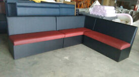 Modern booth benches for restaurants, cafe shops