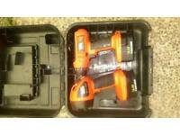 Black and Decker drill and torch set