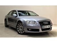 AUDI A8 3.0 TDI QUATTRO SPORT 4d 229 BHP + TOP SPEC WITH ALL THE EXTRAS (silver) 2006