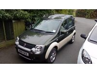 Fiat Panda Cross M-Jet 4x4 1.3 Turbo Diesel, 12 month MOT, very low mileage and tow bar!
