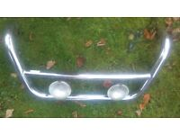 Front chrome bar for sale