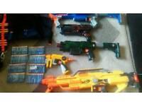 Nerf gun bundle