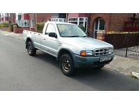 Ford Ranger 2.5 TD 4X4, Single Cab, not L200/ navara/ mazda B2500