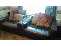 Barker and Stonehouse Laurence Snuggle Sofa Chair