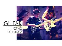 Professional Guitarist for Private Guitar Lessons / Paid Gigs / Recording Sessions by Otho KH Sham