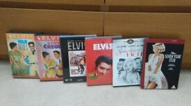 Elvis & Marilyn DVD's