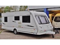 2009 ELDDIS ODYSSEY 544, 4 BERTH (FIXED DOUBLE BED) WITH MOTOR MOVER - SEPARATE SHOWER!