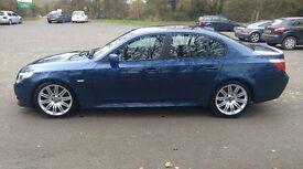 BMW 530D M SPORT, 12 MONTHS MOT, F/S/H, NEW TURBO, SLIGHTLY MODIFIED, NOT 535 525 520 AUDI MERCEDES