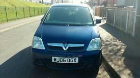 Vauxhall meriva active 1598cc petrol