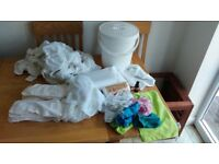 Little Lamb bamboo washable nappy bundle (21) size 1. Used but in great condition