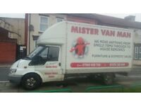 MAN AND VAN, HOUSE REMOVALS SERVICE IN LIVERPOOL,WARRINGTON, CHESTER MANCHESTER BIRMINGHAM LONDON