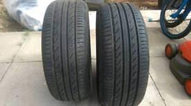 Tyres x2 215/55ZR16