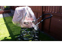 Silver Cross Baby's Pushchair Pink for sale in, in really good used condition
