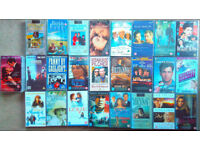 37 miscellaneous movies, Billy Connolly, Upstairs Downstairs, Les Miserables store bought VHS tapes
