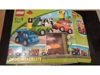 Lego Duplo Combine & Create Car Set. 10552. Boxed, Complete with instructions