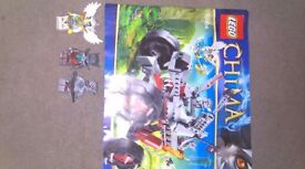 Lego Chima 70004 and 70105 Wakz Pack Tracker