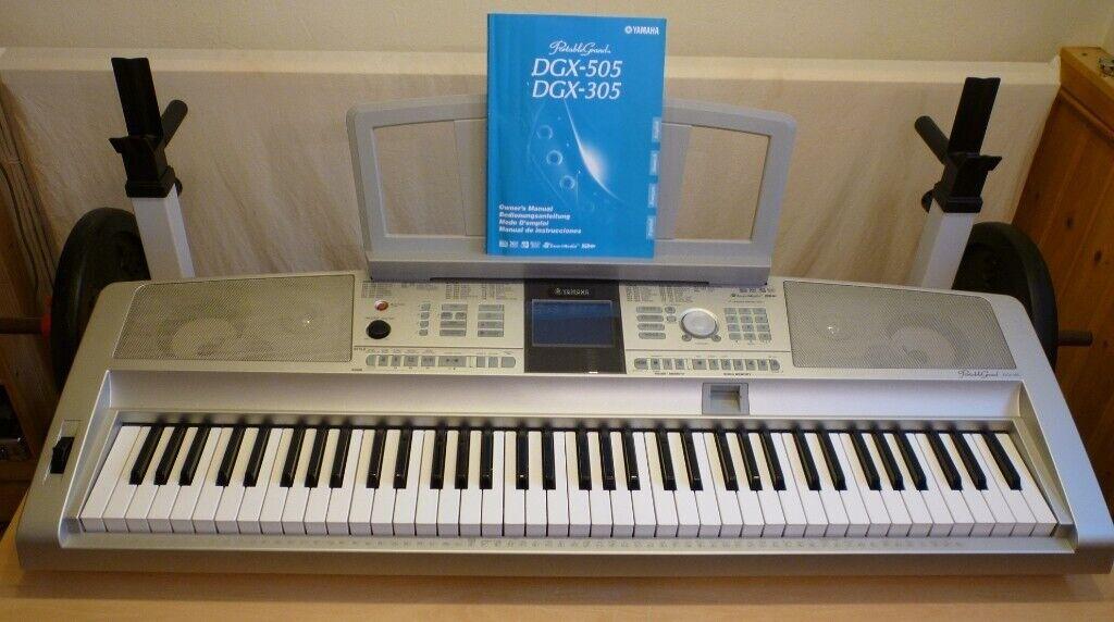 Yamaha DGX 305 Portable Grand Keyboard | in Bury, Manchester | Gumtree