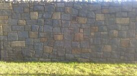 Cropped/Guillotined Building & Walling Stone For Sale