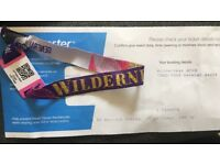 discounted Wilderness festival wrist band for sale