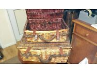 Lovely Decorative Wicker Hampers