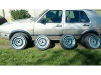 Bbs type wheels deep dish