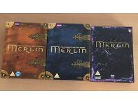 Merlin TV Series 1 - 3 (DVD Box Sets)