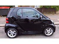 Smart Car, Edition 21, 63 plate (Jan 2014) Black, Air Con, Alloys, LED daylights