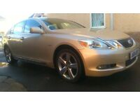 good clean condition lexus gs 300 on private plate ...