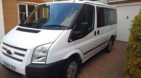 FORD MINIBUS 9 SEATER TOURNEO TREND. 2012 REG. 54000 FSH EXCELLENT CONDITION