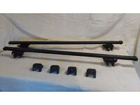 Roof Bars - Universal, to fit most cars with roof rails