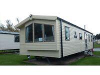 Deluxe 3 bedroom caravan Seton Sands Holiday Village . max 8 guests.