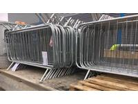 Pedestrian Crowd Control Barriers ~ Safety Fencing