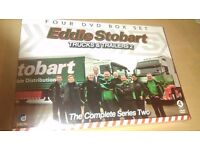 New Set of Four DVDs in a box Set EDDIE STOBART-- Trucks andTrailers 2