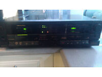 meomerex twin tape deck one deck in bran new condtion