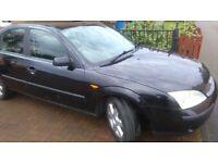 ford mondeo 1.8 petrol. new MOT, Tow bar, good tyres