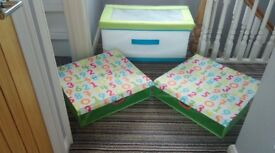 IKEA Toy Box and Storage Boxes