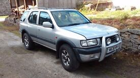 Vauxhall Frontera limited 4 wheel drive