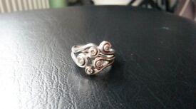 Genuine Pandora Ring Sterling Sliver