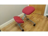 Kneeling chair, orthapaedic ergonomic posture chair