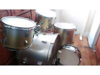 Stagg Tim Drum Kit Silver