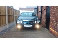 Mercedes Benz E220 CDI -2007 Avantgarde Black Xenon