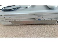 DURRABRAND DVD & VHS REWRITE RECORDER PLAYER