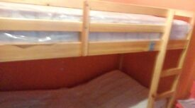 Wooden bunk bed for sale £50