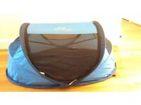 Award winning pop out travel cot/sun/play tent from NSA UK - in good as new condition
