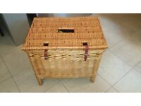 WICKER FISHING CREEL BASKET